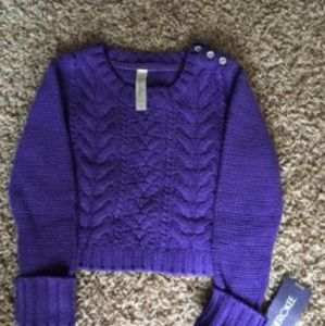 Lil purple sweater